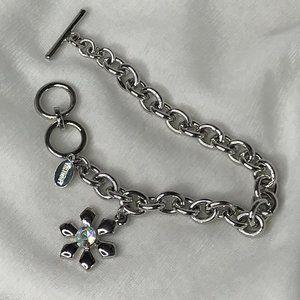 COOKIE LEE Bracelet | Silver Snowflake